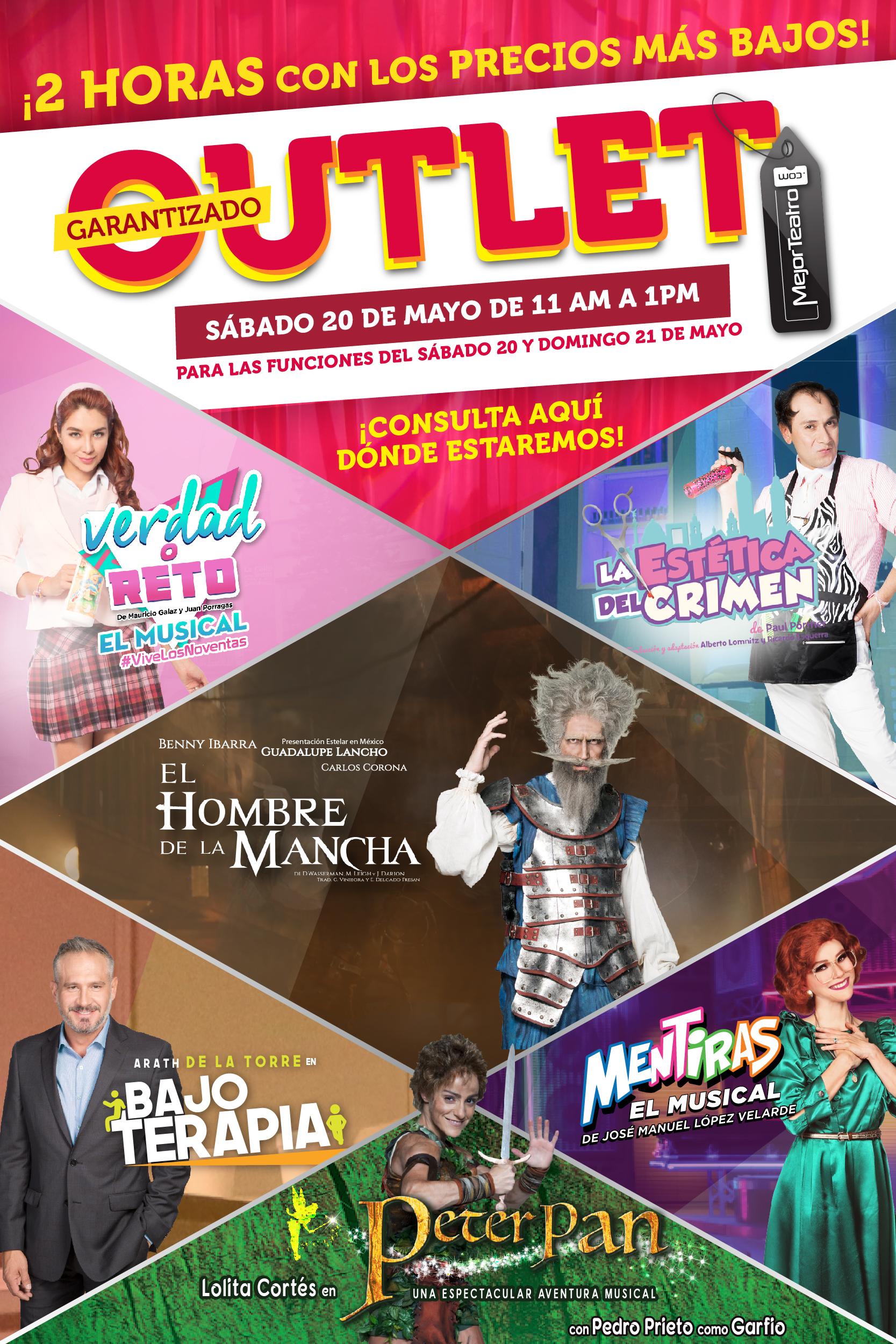 Outlet Mejor Teatro
